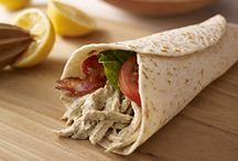 Foodie: Sammies + Wraps