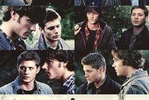Jared, Jensen, Misha, Jeffrey Dean Morgan, Supernatural / by Julie Cruz