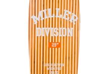 Legacy · Miller Division · Cruiser / ¡Siente el auténtico estilo old school de los 70's! Cóncavo suave, single kick... ramps, cruising, tricks...