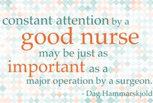Nurse Quotes / Positive, uplifting #quotes about #nursing for #nurses looking for a little #inspiration.