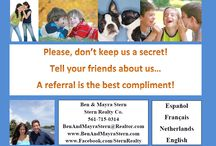 We LOVE Referrals! / A referral is the best compliment!