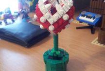 Mario Piranha Plant Lego