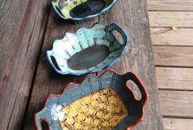 """Ceramics- """"hint, hint"""" Lindsay / by Lisa LeBaron"""