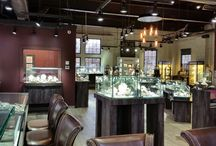 2016 America's Coolest Stores: Editors' Picks for Interior Design: Welling & Company Jewelers / America's Coolest Jewelry Store Preview 2016: Editors' Picks- Welling & Company Jewelry Store for Interior Design(Small Cool). Leslie McGwire & Associates designed Welling & Company in OH.