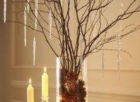 Decorate with pine cones
