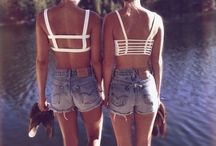 Summer / Where the sun shines, bikinis are worn out, daisy dukes are everywhere and getting your black on is simple!