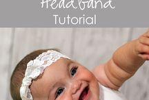 headbands diy baby