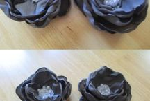 Fiori & foglie - in stoffa, in carta, ecc. / by Minnola