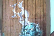 Street Art - A -Pouliční umění, Grafiiti / Street Art - Pouliční umění, Grafiiti