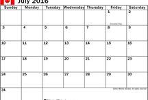 Printable July Calendar 2016 ! Printable Calendar 2016