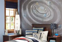 boy's bedroom: for stacey / stacey would like an outerspace-themed room for her son.  / by The Land of Nod