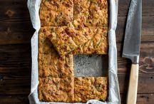 zucchini/sweet potato slice