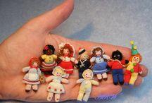 pletené panenky