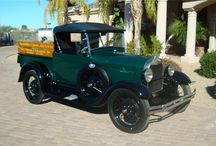 VINTAGE AUTOS & TRUCKS / by Bruce Davis