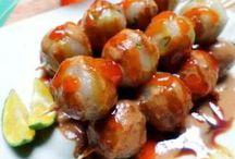 Cilok / Kreasi makanan cilok dari penjuru nusatara baik yang dari daging atau ikan ada disini.