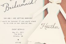 Wedding invites / by Courtney Faherty