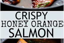 Tasty Salmon dishes