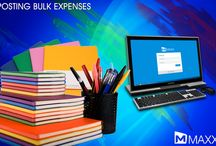 Posting Bulk Expenses  / Posting Bulk Expenses helps to update recurring expenses of the whole year in a single click. This entry automatically splits the whole amount value and posts accordingly in different ledgers....http://maxxerp.blogspot.in/2013/12/posting-bulk-expenses-posting-bulk.html