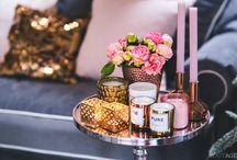 Christmas by BLOGGIRLS: Copper, gold & subtle pink / http://forelements.pl/choinkowa-ksiazka-marzen-prezentow-i-wrazen-czyli-swiateczny-katalog-bloggirls/