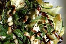courgettes salade