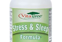 Natural Stress & Sleep Relief Supplements