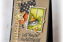 Cards - Halloween/Thanksgiving / by Kristine Kubitz Fossmeyer