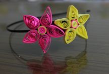 SPIRAL QUILLED / Papper Hair Accessories