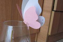 farfalla confettata