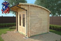 Ki Log Cabins Range New 2015 / The Original Curved Roof Ki Range of Log Cabins. If you are looking for quality, great pricing and amazing designs then www.logcabins.lv is the place to visit!