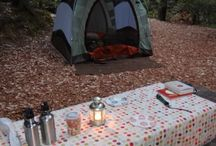 Camping and outdoor trips / by Andrea Tackett
