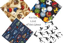 For the Love of Sports / Sports fabric / by Material Mart