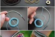 jewellery to make / by Rebecca Cobb-Kilner