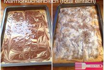 Marmorkuchen vom Blech