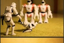 Stormtroopers In the Wild / Because I get a kick out of what folks do with the figurines, and also cosplayers who pretend to be Stormtroopers dressing up as something else. LOVE. / by Angela Quarles, Witty, Charming, Captivating Fiction