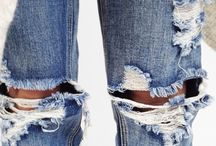 Denim Outfits We Love / Denim Outfits, Denim Shirts, Demin Skirts and really anything Denim ...it's all about the denim!!