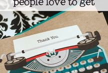 Thank You Cards / Handmade thank you card ideas