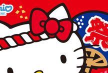 HELLO KITTY「お祭り ハローキティ マスコット」 / http://www.re-ment.co.jp/products/sanrio_matsuri/index.html