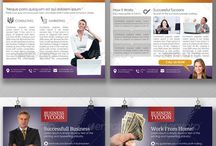 Newsletter / Great Newsletter template for your business marketing. Templates are available in indesign and photoshop. They are easily editable and really professional.