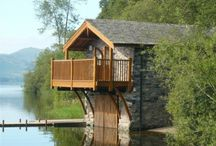 Duke of Portland Boathouse, Ullswater / Duke of Portland Boathouse is a stunning cottage sleeping 2 on the shores of Lake Ullswater with a balcony overlooking the lake and mountains. Ideal romantic or honeymoon cottage.