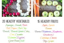Food|Healthy / by Whitlie James