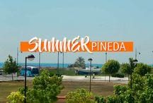Summer Pineda / Campaña para Grupo Pineda de oportunidades inmobiliarias en las zonas costeras de El Puig, Puzol y Port Saplaya