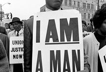 'Black' Amazing History * I'm a man / Protest
