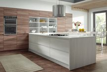 Our bespoke handleless J-Pull Kitchens