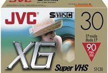 Viedokazety S-VHS-C