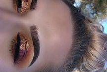 eyebrows and eyes makeup