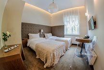 Wnętrza mieszkalne / sypialnie, pokoje hotelowe, salony...