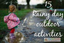 rainy day activities / by Amy Evans