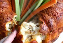 Buffalo chicken pizza bundt / Pizza