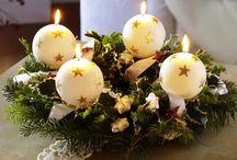 Adventi koszorú / Karácsony