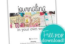 Scrapbook - Journaling